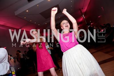 Jessica Moore, Tess Hetzel. Photo by Tony Powell. 2014 Susan G. Komen Honoring the Promise Gala. Kennedy Center. September 18, 2014