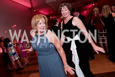 Rose Miller, Cathy Kotila. Photo by Tony Powell. 2014 Susan G. Komen Honoring the Promise Gala. Kennedy Center. September 18, 2014