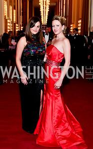 Sarah MacLellan, Rachel Hallinan. Photo by Tony Powell. 2014 Susan G. Komen Honoring the Promise Gala. Kennedy Center. September 18, 2014