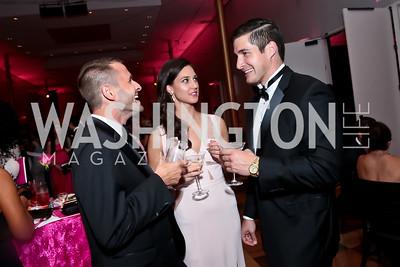 Peter Fromknecht, Jordan Lacrosse, Ross Gage. Photo by Tony Powell. 2014 Susan G. Komen Honoring the Promise Gala. Kennedy Center. September 18, 2014