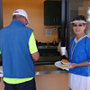 ....THEN LINE UP FOR FABULOUS COMPLIMENTARY SLOPPY JOES (BEST RECIPE EVER), CHIPS.....