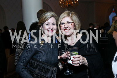 Christie Weiss, Shelly Porges. Photo by Tony Powell. 2014 Teach for America Gala. Omni Shoreham. March 13, 2014