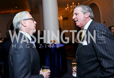 Howard Fineman, Bob Monahan. Photo by Tony Powell. 2014 Teach for America Gala. Omni Shoreham. March 13, 2014