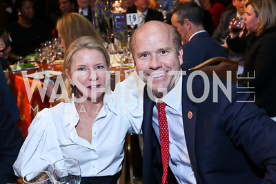 Elizabeth Baker Keffer, Rep. John Delaney. Photo by Tony Powell. 2014 Teach for America Gala. Omni Shoreham. March 13, 2014