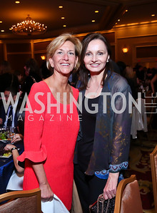 Eleanor Rutland, Gabriella Smith. Photo by Tony Powell. 2014 Teach for America Gala. Omni Shoreham. March 13, 2014