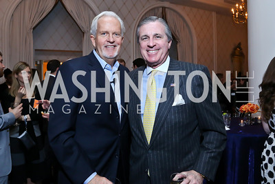 Jack Davies, Bob Monahan. Photo by Tony Powell. 2014 Teach for America Gala. Omni Shoreham. March 13, 2014