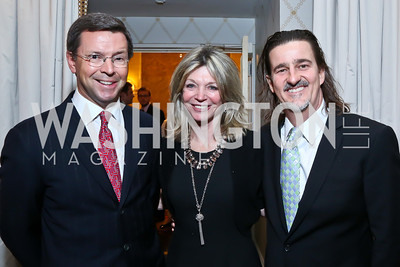 Sam Reid, Kay Kendall, Vadim Nikitine. Photo by Tony Powell. 2014 Teach for America Gala. Omni Shoreham. March 13, 2014