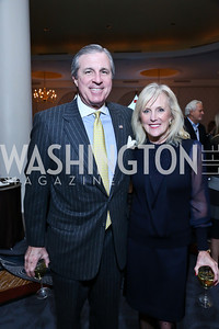 Bob and Laurie Monahan. Photo by Tony Powell. 2014 Teach for America Gala. Omni Shoreham. March 13, 2014