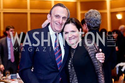 Stephen and Andrea Weiswasser. Photo by Tony Powell. 2014 Teach for America Gala. Omni Shoreham. March 13, 2014
