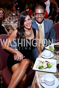 Bethany Stewart, Alex Humphries. Photo by Tony Powell. 2014 Tim Russert Congressional Dinner. JW Marriott. May 22, 2014