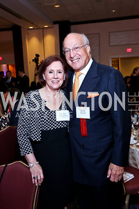 Maureen Caddigan, Martin Alloy. Photo by Tony Powell. 2014 Tim Russert Congressional Dinner. JW Marriott. May 22, 2014