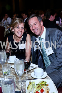 Ruth and Arne Sorenson. Photo by Tony Powell. 2014 Tim Russert Congressional Dinner. JW Marriott. May 22, 2014