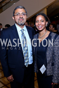 Jesus Aguirre, Shawn Stokes. Photo by Tony Powell. 2014 Tim Russert Congressional Dinner. JW Marriott. May 22, 2014