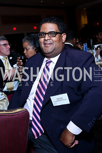 THEARC Executive Director Edmund Fleet. Photo by Tony Powell. 2014 Tim Russert Congressional Dinner. JW Marriott. May 22, 2014