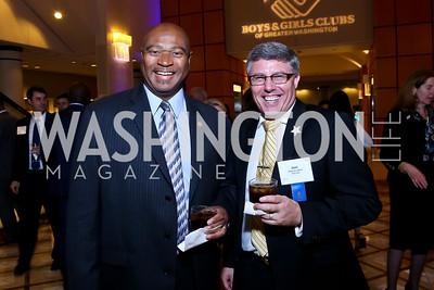 Allan Herring, BGCGW COO Mark McCaffrey. Photo by Tony Powell. 2014 Tim Russert Congressional Dinner. JW Marriott. May 22, 2014