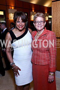 Debbi Jarvis, Nancy's Zirkin. Photo by Tony Powell. 2014 Tim Russert Congressional Dinner. JW Marriott. May 22, 2014