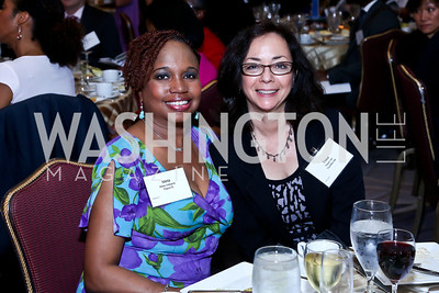Meta Williams, Thea Lee. Photo by Tony Powell. 2014 Tim Russert Congressional Dinner. JW Marriott. May 22, 2014