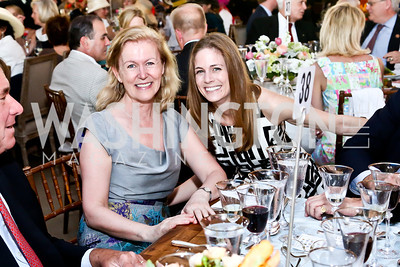 Irish Amb. Anne Anderson, Lauren Grunley. Photo by Tony Powell. 2014 Trust for the National Mall Luncheon. May 1, 2014