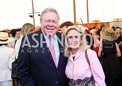 Norm Dicks, Debbie Dingell. Photo by Tony Powell. 2014 Trust for the National Mall Luncheon. May 1, 2014