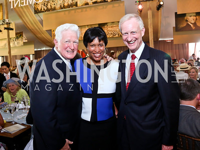 Rep. Jim Moran, Muriel Bowser, Jack Evans. Photo by Tony Powell. 2014 Trust for the National Mall Luncheon. May 1, 2014