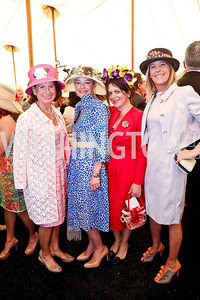 Bobbi Smith, Mariela Trager, Izette Folger, Debbie Dockser. Photo by Tony Powell. 2014 Trust for the National Mall Luncheon. May 1, 2014
