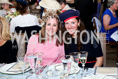 Abby Echols, Sarah Canova. Photo by Tony Powell. 2014 Trust for the National Mall Luncheon. May 1, 2014