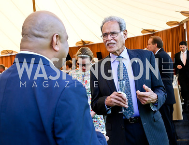 Fiji Amb. Winston Thompson. Photo by Tony Powell. 2014 Trust for the National Mall Luncheon. May 1, 2014