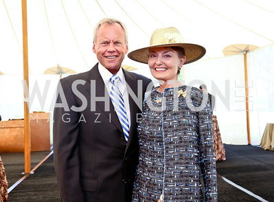 John and Antonia Gore. Photo by Tony Powell. 2014 Trust for the National Mall Luncheon. May 1, 2014
