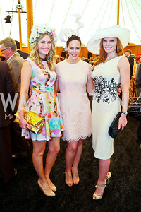 Ashley Bronczek, Candace Ourisman, Amanda Polk. Photo by Tony Powell. 2014 Trust for the National Mall Luncheon. May 1, 2014