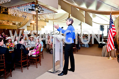 Secretary of the Interior Sally Jewell. Photo by Tony Powell. 2014 Trust for the National Mall Luncheon. May 1, 2014