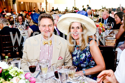 Arturo Brillembourg, Isabel Ernst. Photo by Tony Powell. 2014 Trust for the National Mall Luncheon. May 1, 2014