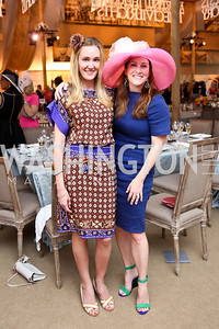 Britlan Malek, Jenny Gaynor. Photo by Tony Powell. 2014 Trust for the National Mall Luncheon. May 1, 2014
