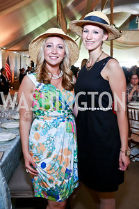 Tiffany Osentoski, Leticia Hartel. Photo by Tony Powell. 2014 Trust for the National Mall Luncheon. May 1, 2014