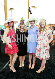 Kendall Vincent, Anne Brady, Biffy Cathcart, Lauren Pillsbury. Photo by Tony Powell. 2014 Trust for the National Mall Luncheon. May 1, 2014
