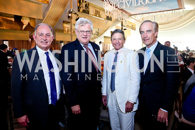 Lanny Griffith, Rep. Alan Nunnelee, Chip Akridge, Former Secretary of the Interior Dirk Kempthorne. Photo by Tony Powell. 2014 Trust for the National Mall Luncheon. May 1, 2014
