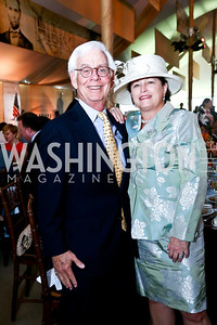 Lee and Toni Verstandig. Photo by Tony Powell. 2014 Trust for the National Mall Luncheon. May 1, 2014