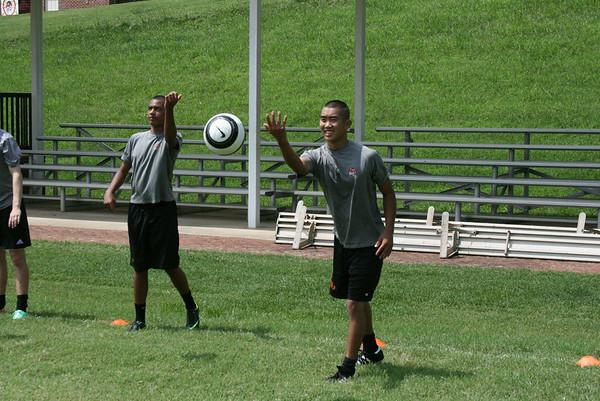 Varsity Soccer Practice