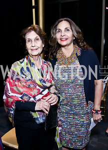 Fatima Farouki and Samia Farouki. Photo by Tony Powell. 2014 Vital Voices Global Leadership Awards. Kennedy Center. June 17, 2014