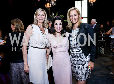 Caroline Cunningham, Tracy Bernstein, Ami Aronson. Photo by Tony Powell. 2014 Vital Voices Global Leadership Awards. Kennedy Center. June 17, 2014