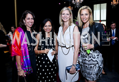 Donna Orender, Sarika Bhattacharyya, Caroline Cunningham, Ami Aronson. Photo by Tony Powell. 2014 Vital Voices Global Leadership Awards. Kennedy Center. June 17, 2014
