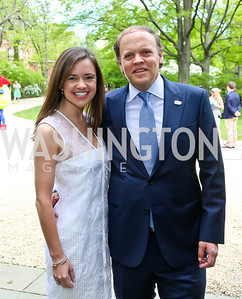 Sally and Mark Ein. Photo by Tony Powell. WHCD Garden Brunch. Ein Residence. May 3, 2014