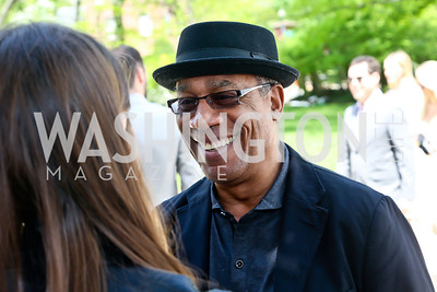 Actor Joe Morton. Photo by Tony Powell. WHCD Garden Brunch. Ein Residence. May 3, 2014