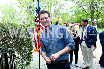 Glee's Matthew Morrison. Photo by Tony Powell. WHCD Garden Brunch. Ein Residence. May 3, 2014