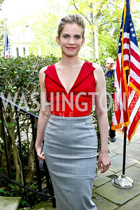 Actress Anna Chlumsky. Photo by Tony Powell. WHCD Garden Brunch. Ein Residence. May 3, 2014