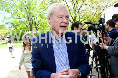 Chris Matthews. Photo by Tony Powell. WHCD Garden Brunch. Ein Residence. May 3, 2014