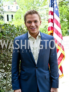 Ronan Farrow. Photo by Tony Powell. WHCD Garden Brunch. Ein Residence. May 3, 2014
