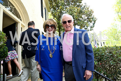 Ann and Lloyd Hand. Photo by Tony Powell. WHCD Garden Brunch. Ein Residence. May 3, 2014