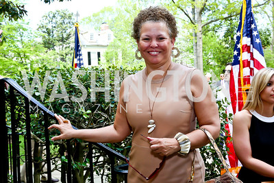 Debra Lee. Photo by Tony Powell. WHCD Garden Brunch. Ein Residence. May 3, 2014