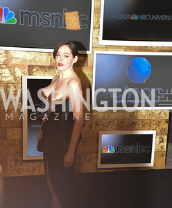 Rose McGowan, MSNBC hosts an afterparty for the White House Correspondents Association Dinner.  National Building Museum.  May 3, 2014.  Photo by Ben Droz