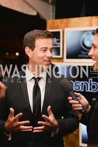Carson Daly, MSNBC hosts an afterparty for the White House Correspondents Association Dinner.  National Building Museum.  May 3, 2014.  Photo by Ben Droz